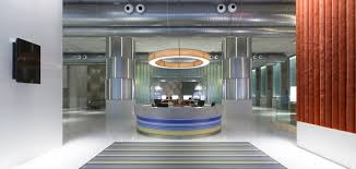 Circular Reception Desk by Jom Makan Life Aloft Y Dream Realised