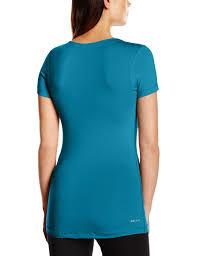 nike pro women u0027s fitted v neck training t shirt fitness apparel
