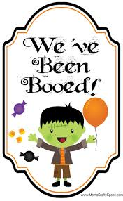 free halloween gift tags 10 best boo u0027d images on pinterest holidays halloween halloween
