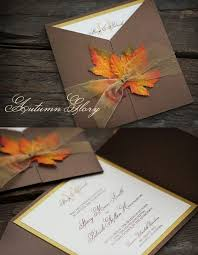 autumn wedding invitations custom wedding invitations to match your wedding theme 21st