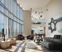 soar above sf in these double height penthouses lumina