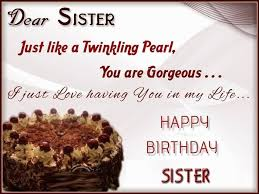 happy birthday quotes wishes sms and messages for sister