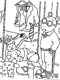 arthur color coloring pages kids cartoon characters