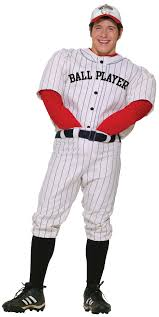Halloween Baseball Costume Sports Athlete Costumes Long Island Costume