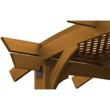 12 X 16 Pergola by Outdoor Greatroom Company Lattice Roof For 12 X 16 Foot Sonoma