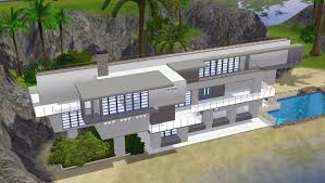 small sims 3 beach house plans all about house design sims 3