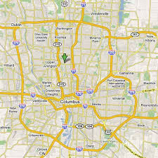 map of columbus maps of dallas map of columbus