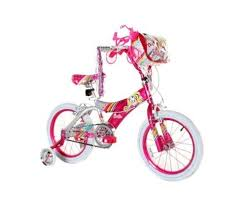 dynacraft kitty u0027s bike pink white 16 amazon ca