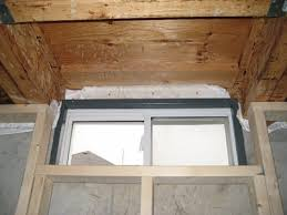 Basement Window Shield by Framing Finishing Around Basement Windows Remodeling Diy