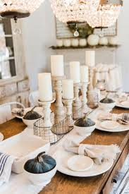 best 25 dining room table decor ideas on pinterest dinning simple neutral fall farmhouse dining room