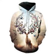 deer love unisex hoodie u2013 deals for you