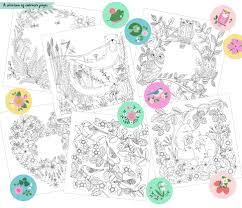 colouring books national trust rebecca jones