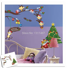 Christmas Window Poster Decorations by 64 100 Cm Pvc This Month Blackboard Sticker Removable Blackplate