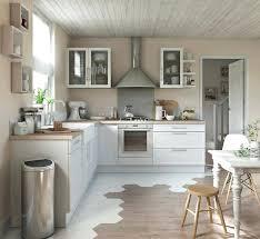 cuisine bois gris moderne cuisine bois blanc alliance parfaite du blanc et du bois pour une