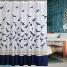 elegant fabric shower curtains with valance gray floor white brick