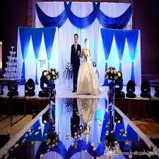 royal blue and silver wedding new arrival 1 2 m wide silver wedding backdrop centerpieces decor