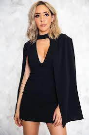 plunging neckline cape plunging neckline dress only 1 l left haute rebellious
