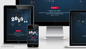 electronic new year cards merry christmas happy new year card v2 by odiusfly codecanyon
