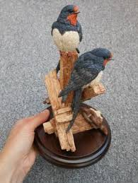 country artists bird figure swallows called early visitors