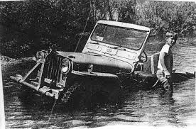 Stuck Willys Jeep