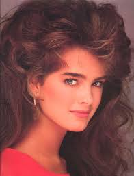 hairstyles in 1983 brooke shields 1983 04 april mougin