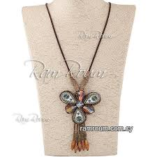 beaded seed bead necklace images Bohemia seed beads necklace f45500 jewelry cyprus jpg