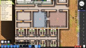 prison architect basic prison layout youtube