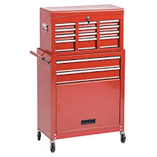 amazon com portable tool chest rolling toolbox storage cabinet