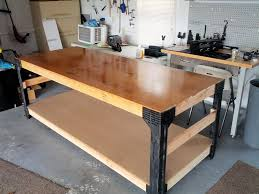 built a work bench gun bench as a weekend project with pics