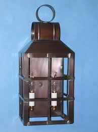 lighting by the sea solid copper wall lantern 3030hc lighting by the sea