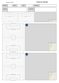 my training session template