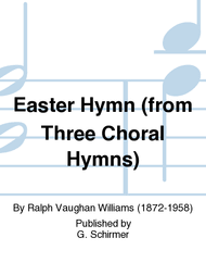 easter choral easter hymn from three choral hymns sheet by ralph vaughan