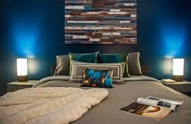 deco chambre adulte bleu couleur de chambre 100 idées de bonnes nuits de sommeil tv walls