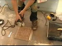 floor tile cutting part 1 angle grinders