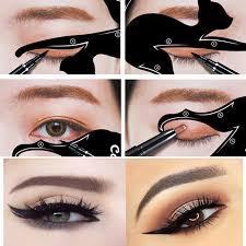 Eye Liner 1set eye liner makeup cat eye eyeliner stencil new design eyeliner