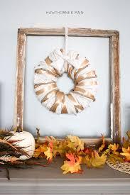 oversized wreath hawthorne and