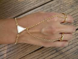 hand chains bracelet images Ring chains bracelet chains triangle gold chain jewelry hand jpg
