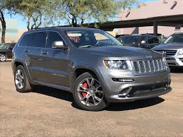 srt jeep 2012 jeep grand cherokee srt 8 in arizona for sale used cars on