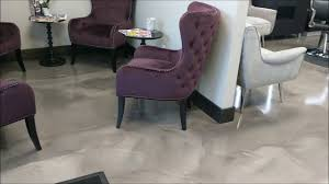 decorative epoxy flooring for hair salon commercial flooring