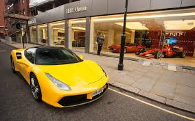 crashed lamborghini for sale supercar dealership to offer driving lessons for footballers