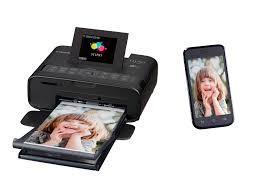 canon selphy cp1200 portable compact color printer black