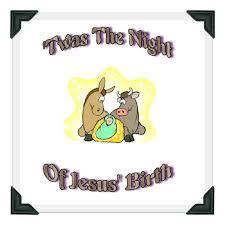 printable story poem twas the of jesus birth
