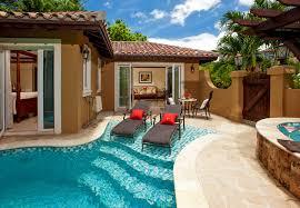 mediterranean one bedroom butler villa suite w private pool