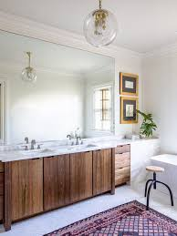 55 Bathroom Vanity 55 Bathroom Vanity Transitional With Framed Wall Contemporary