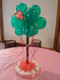 owl themed baby shower centerpiece cc events llc decorations