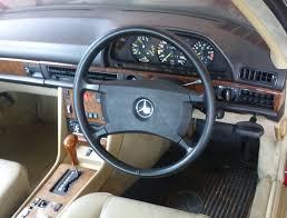 mercedes benz w126 560sec steering wheel mercedes benz w126