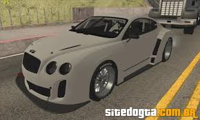 bentley super sport bentley continental super sport para gta san andreas site do gta