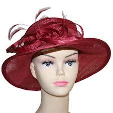 chapeau pour mariage chapeau mariage bordeau vannerie sana