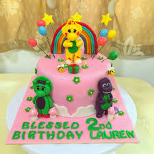 and friends cake sherbakes barney and friends cake