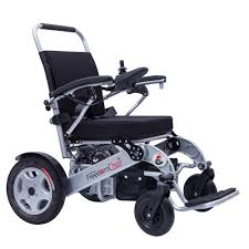 foldable lightweight brushless motor electric wheelchair from